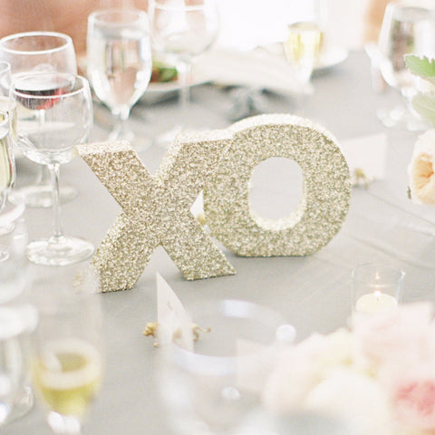 XO Table Signs