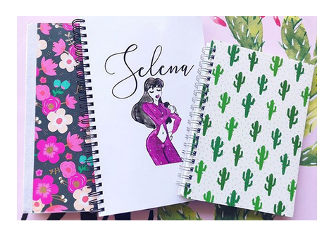Selena Notebook Sale