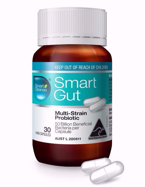Smart Gut Multi-Strain Probiotic 50B CFU