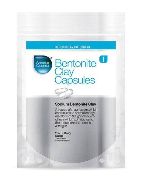 Smart Cleanse - Bentonite Clay Capsules
