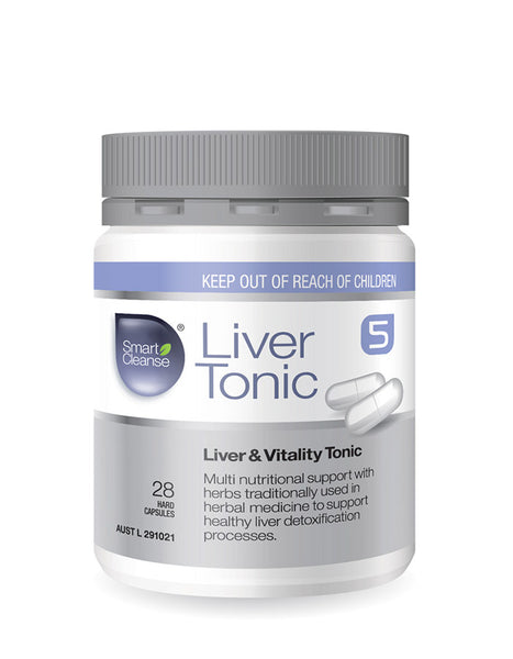 Smart Cleanse - Liver Tonic - 4 caps per dose