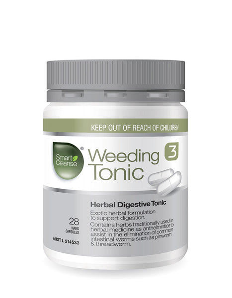 Smart Cleanse - Weeding Tonic - 2 caps per dose