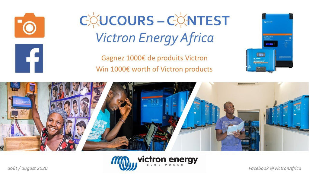 CONCOURS VICTRON ENERGY AFRICA