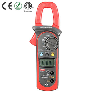 Multimetre Pince Amperemetrique - Digital Clamp Multimeter -UT203 - AC/DC 400A - NRJSOLAIRE