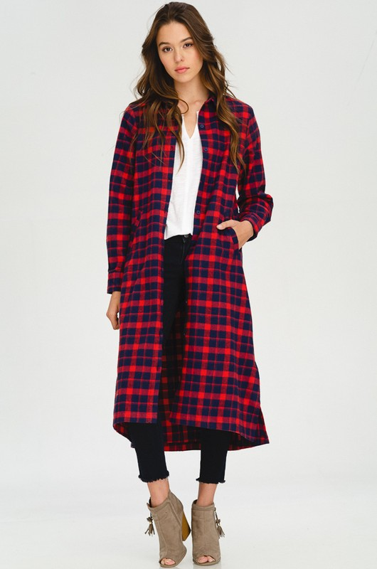 Town and Country Buffalo Plaid Dress