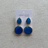 Blue Nile Drop Earrings