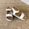 Cabo Wedge Sandal-WHITE