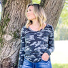 Kinney Long Sleeve-CHARCOAL
