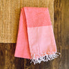 Italian Summer Beach Towel - Red