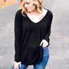 Fun and Cozy Top - Black