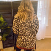 Leopard Sherpa Teddy Bear Coat