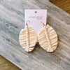 Raffia Radiance earrings