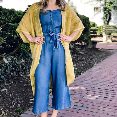 Cruise Denim Jumpsuit