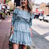 Spring Dreams Ruffle Dress