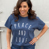 Peace And Love Graphic Tee