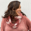 Chenille Infinity Scarf-ROSE