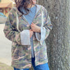 Lightweight Camo Jacket with Hood