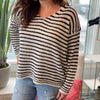 Cape Striped Sweater