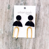 Sydney M Earrings BLACK #6