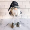 Plush Grey Wobble Santa Gnome