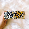 Speckled Speck Leopard Headband
