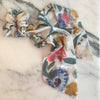 Touch of Flowers Scarf Scrunchie