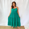 Jade Tiered Maxi Dress