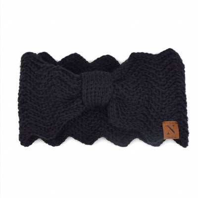 Scalloped Winter Headband