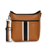 Blake Crossbody-PARIS SADDLE BW STRIPE