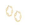 Link Hoop Earrings