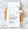 Unicorns Tea Towel