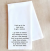 Hair Salon Tea Towel