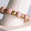 Binary Stretch Bracelet - Stone + Stick