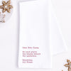 Dear Mrs. Claus Tea Towel