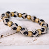 Safari Sand Spots Stretch Bracelet - Small - Stone + Stick
