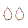 Kaleidoscope Earrings - Pinks/Blues