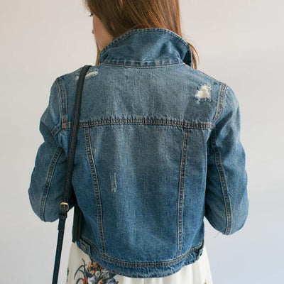 Next Best Thing Jean Jacket