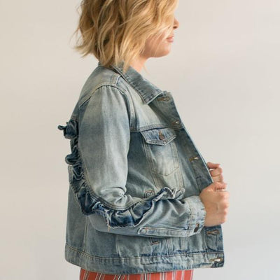 Girly Girl Jean Jacket