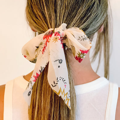 Eden Scrunchie with tie