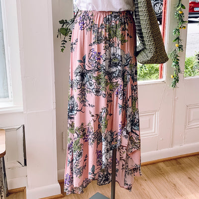 Pink Flamenco Skirt