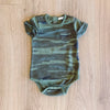 Pocket Camo Onesie Green