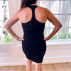 Gym and Tonic Body Con Tank Dress