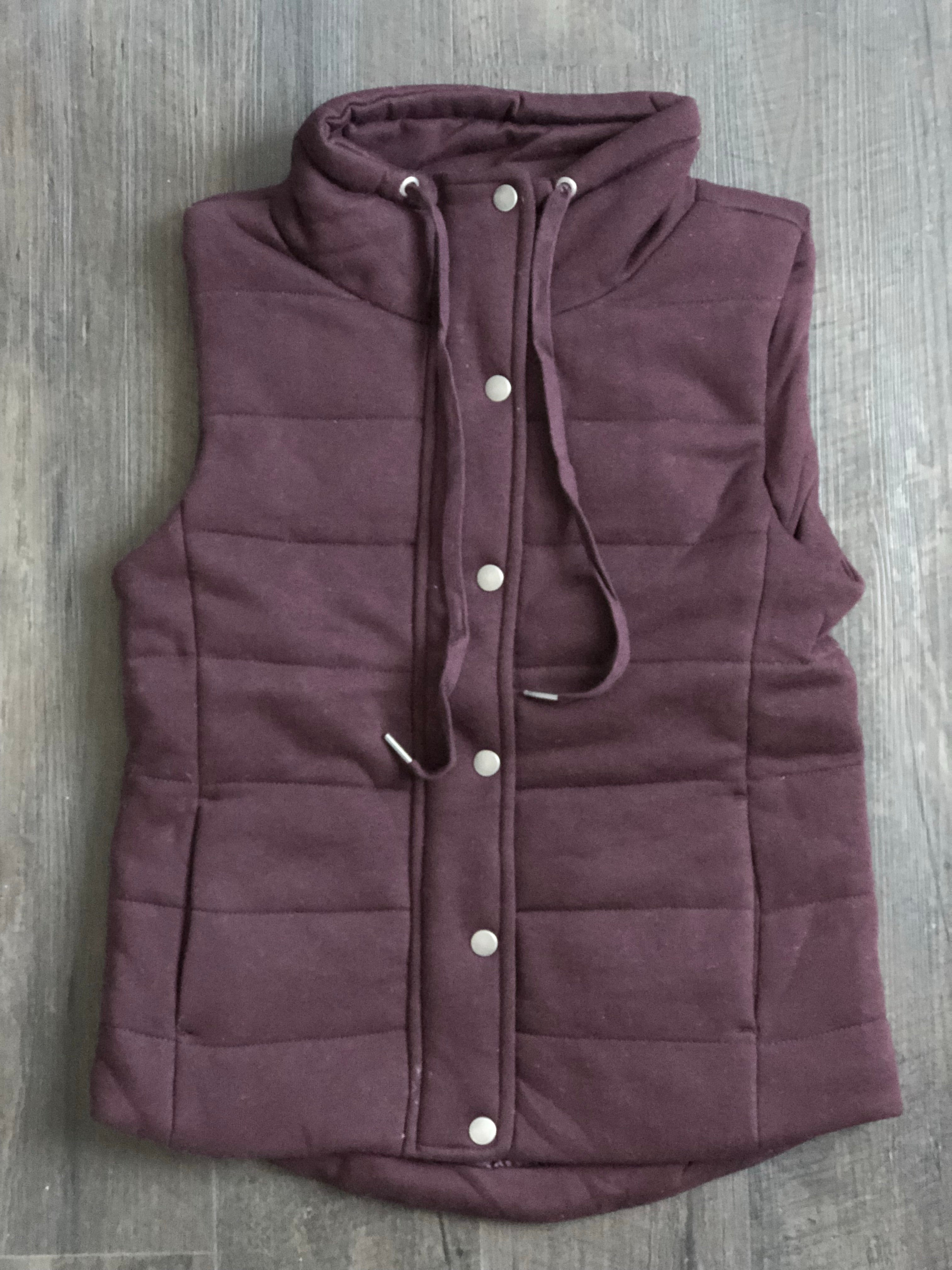 The Quilted Cotton Vest