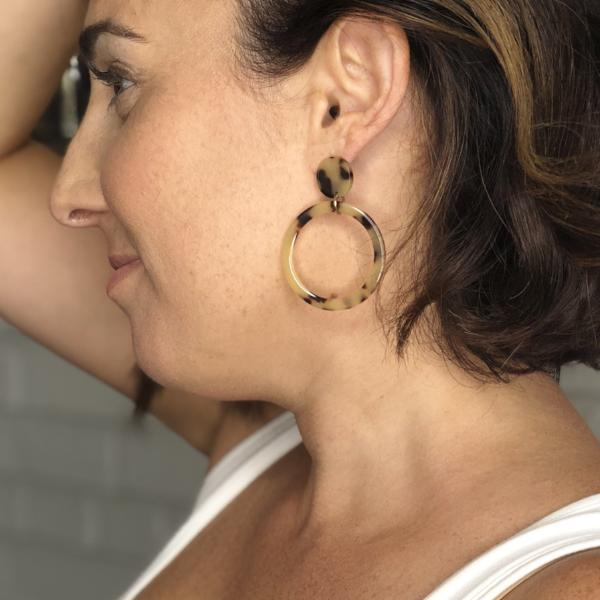 Samoa Hoop Earrings