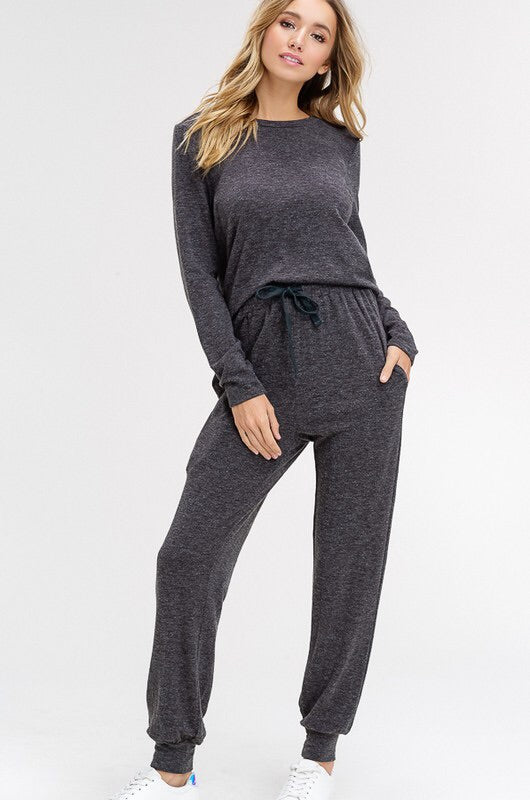 Classic Knit Jogger and Top Set