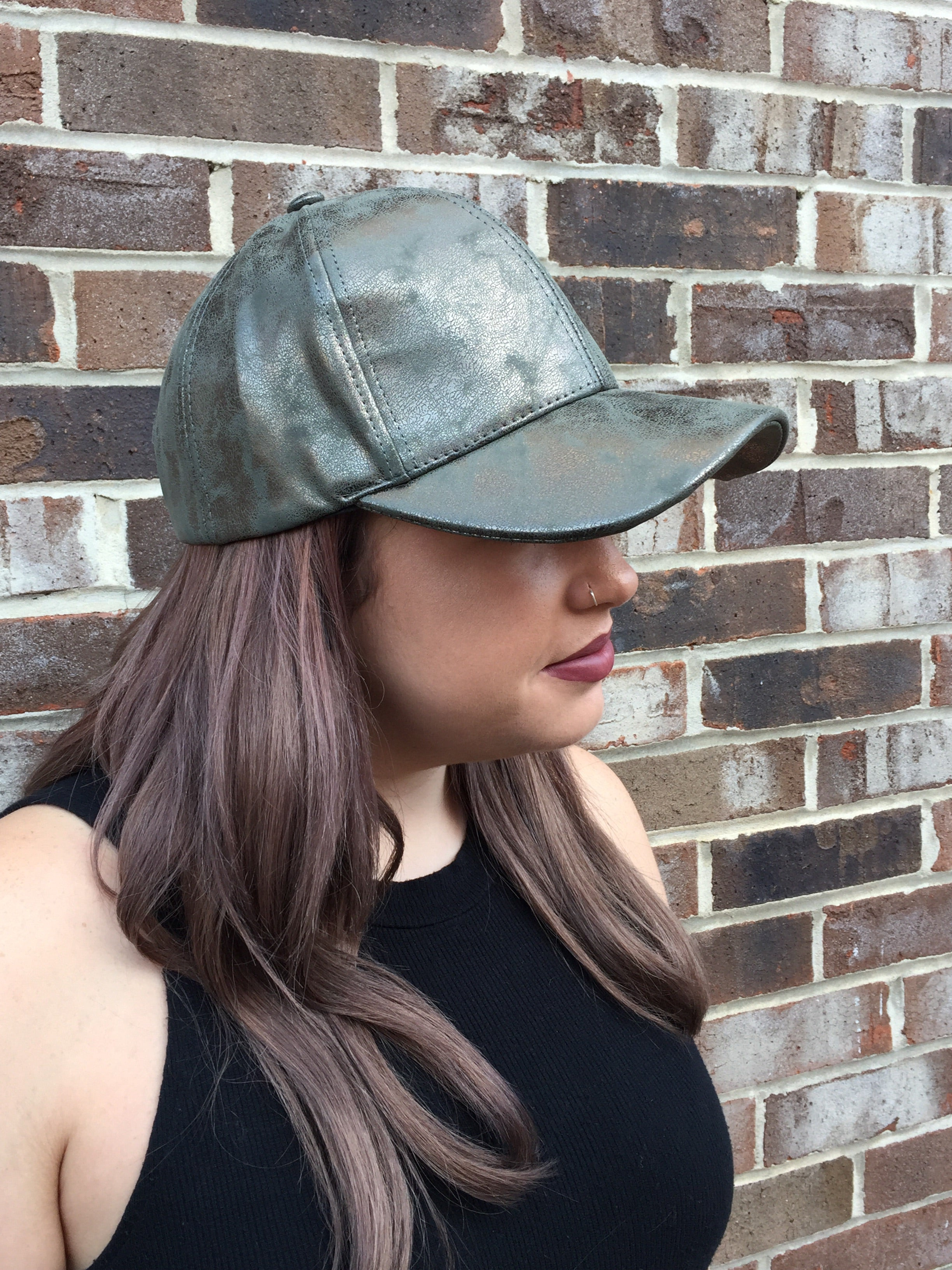 The Metallic Baseball Cap