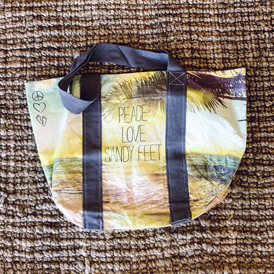 Reversible Recyclable Tote Bag