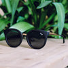 Shook BLK/SMK - Quay Sunglass