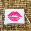 Smooch Zippered Clutch