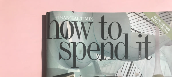 Financial Times: How to Spend it reviews Natural perfume
